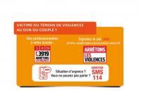 Victime ou Témoin de violences au sein du couple